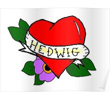 Hedwig (Tattoo Heart)  Poster
