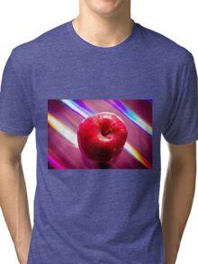 Futuristic red apple Tri-blend T-Shirt