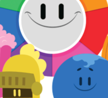 Trivia Crack Characters Sticker