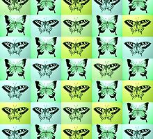 Green butterfly fantasy by cathyjacobs