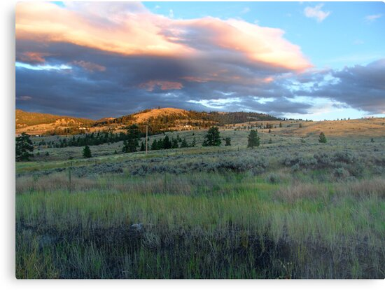 Evening Near Kamloops by George Cousins
