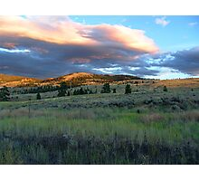 Evening Near Kamloops Photographic Print