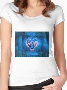 Blue Tiger Women's Fitted Scoop T-Shirt