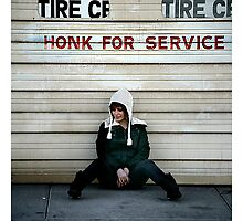 Honk for Service by Christopher B.