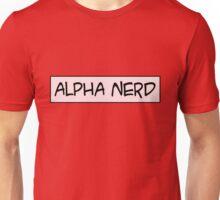 Alpha nerd Unisex T-Shirt