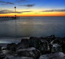 Brighton beach - South Australia by Jon Westra