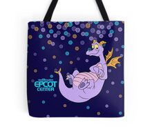 Navy Confetti EPCOT Center Figment Tote Bag