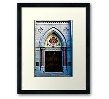 One Faith Framed Print