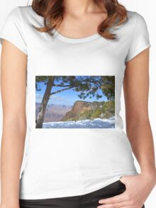 Grand Canyon 3 Women's Fitted Scoop T-Shirt