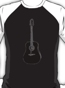 Steel String Accoustic Guitar T-Shirt