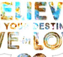 Heart Nebula | BIYDLIL Sir Douglas Fresh Slogan Shirt Sticker