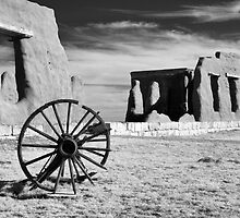 Wagon Yard at Fort Union National Monument by Mitchell Tillison