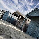 Beach Hut Series 22 by Amanda White