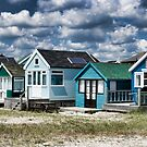 Beach Huts Series 24 by Amanda White