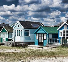 Beach Huts Series 24 by Amanda White