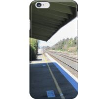 Once Upon a Time!, Old Rail Station, 'Henty', Country Town.  iPhone Case/Skin