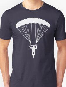 skydive silhouette Unisex T-Shirt