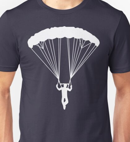 skydive silhouette Unisex T-Shirt