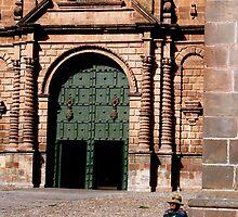At Plaza des Armes, Cusco by Mariya Manzhos