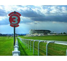 Epsom Racecourse - Home of the English Derby Photographic Print