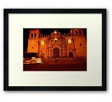 Plaza des Armes, Cusco Framed Print