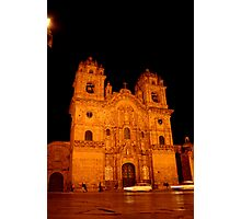Cathedral on Plaza des Armes Photographic Print