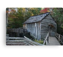 Cable Mill in Great Smoky Mountains Canvas Print
