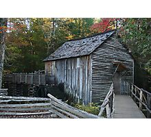Cable Mill in Great Smoky Mountains Photographic Print
