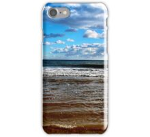 Blue Sky Beach iPhone Case/Skin