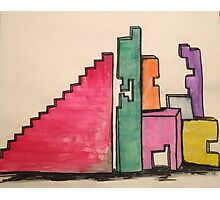 Dreamers Building Blocks  Photographic Print