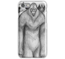Sasquatches iPhone Case/Skin