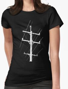 Telegraph Revision Womens Fitted T-Shirt