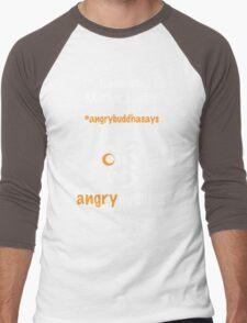 Namaste (Dark) Men's Baseball ¾ T-Shirt