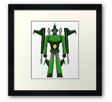 WARRIOR ROBOT Framed Print