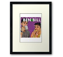 Ben & Bill - Hot Dogs and Coffee Framed Print