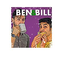 Ben & Bill - Hot Dogs and Coffee Photographic Print