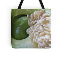 Green Pepper and Seeds 1 Tote Bag
