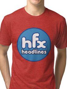 HFX Headlines - Fake Fashion Is In Tri-blend T-Shirt
