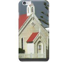 Country Church George Town Tasmania Australia iPhone Case/Skin