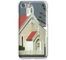 Country Church George Town Tasmania Australia iPhone Case/Skin