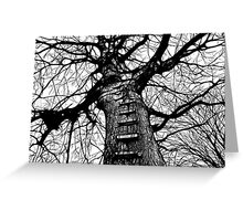 The Ladder (dark ink) Greeting Card