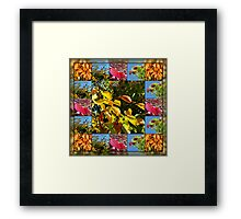 Reflections of Autumn Collage Framed Print