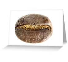 Coffee Bean Greeting Card