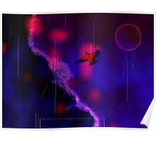 O noapte pe planeta viselor Poster