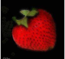 Strawberry by Linda Sannuti