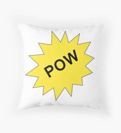 POW !!  Throw Pillow