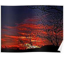 Skies On Fire Poster