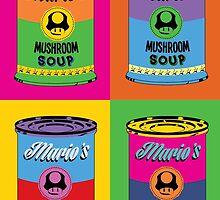 Mario Campbell Mushroom Soup by pribellafronte