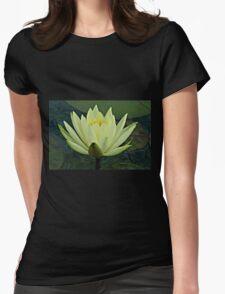 Lemon Water Lily in Low Light T-Shirt