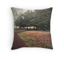 Take the Right Way to the Zee in the Trees Throw Pillow